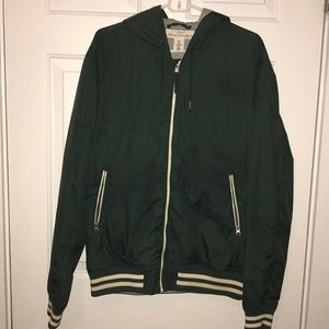 Dark Green H&M Bomber Jacket